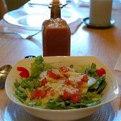 Red Pepper Vinaigrette Recipe - This simple dressing is so easy to make, and so delicious!