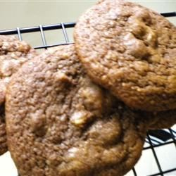 Seattle Macadamia Cookies Recipe - Big, soft cookies with macadamia nuts, chocolate and powdered espresso.