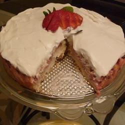 Nova Scotia Blueberry Cream Cake