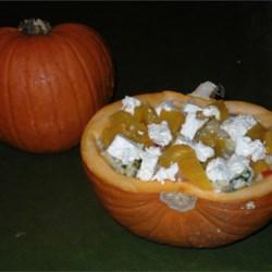 Roast Pumpkin and Feta Risotto