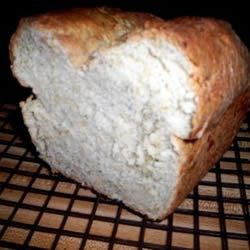Dilly Cheese Wheat Bread Recipe - This bread machine recipe turns out a perfectly textured flavorful bread every time. I prefer to let the bread machine cycle thru 2nd rise, then shape the loaf and bake in the oven at 400 degrees for 35-40 minutes. The dill cheese combination is great toasted and makes wonderful salad croutons.
