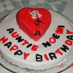 "My ""I Love Lucy"" Birthday cake."