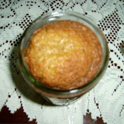 Caramel Nut Cake in a Jar Recipe - This recipe delivers cake in a jar to deliver great food gifts for your Christmas gift-giving needs.