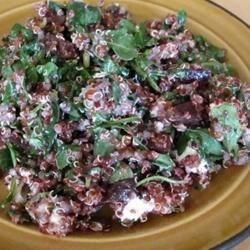 Quinoa, Beet and Arugula Salad
