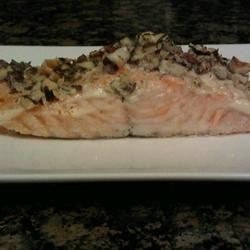 Hazelnut-Crusted Salmon Recipe - Allrecipes.com