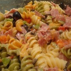 Salami Lover's Italian Pasta Salad