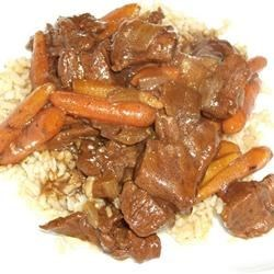 Ale Braised Beef and Carrots