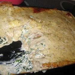 White Cheese Chicken Lasagna (May 26, 2010)
