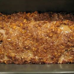 Onion Meat Loaf