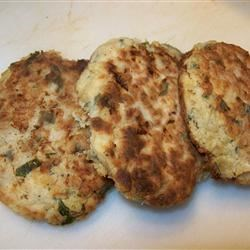 Captain Duarte's Salt Cod Cakes Recipe - Salt cod is mashed with potatoes, fresh parsley, and seafood seasoning in these crispy cakes.