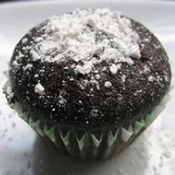 Chocolate salad cupcakes