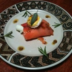 salmon with egg