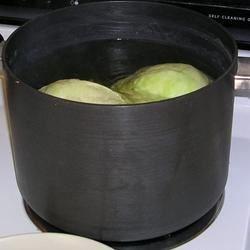 Stuffed Cabbage Rolls--Boiling Process