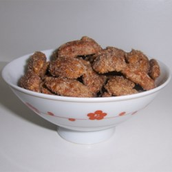 sugar coated pecans