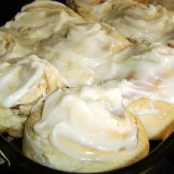 Savory Cinnamon Rolls Recipe - My husband was the inspiration for this recipe.  These rolls are extremely tasty and are not heavy.  The secret to this recipe lies in the frosting.