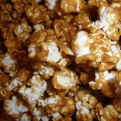 Caramel Corn III Recipe - Make the caramel and popcorn on your stovetop, then bake it slowly in a warm oven until crisp. Store in airtight containers--if there is any left!
