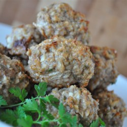 Tantalizing Turkey and Blue Cheese Meatballs Recipe - These blue cheese and turkey meatballs are my own recipe.