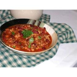 Sarah's Spicy Turkey Chili
