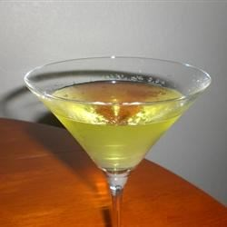 Awesome Apple Martinis Recipe - Apple schnapps, vodka and apple juice are shaken, not stirred.