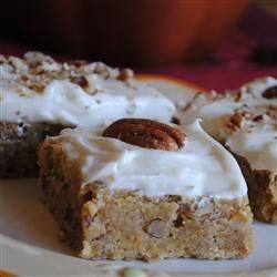 "Pumpkin Pecan ""Brownies"""