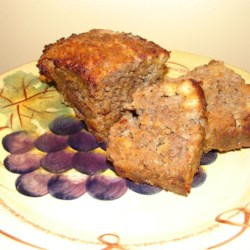 Meatloaf with Fried Onions and Ranch Seasoning