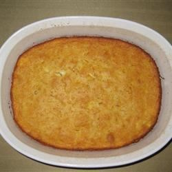 Cornbread Pudding Recipe - Corn baked into cornbread -- delicious!