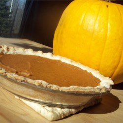 Sara's Pumpkin Pie Recipe - My mom makes THE VERY BEST PUMPKIN PIE. Here is her recipe. Enjoy with sweetened fresh whipped cream. Originally submitted to ThanksgivingRecipe.com.