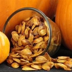 Sweet and Spicy Pumpkin Seeds Recipe - Allrecipes.com