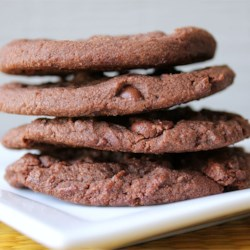 Chocolate Chocolate Chip Cookies II Recipe - You can add macadamia nuts or any other nuts for that matter.  Delicious!!