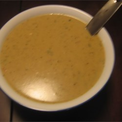 Easy Turkey Gravy Recipe and Video - This gravy comes out perfect every time. The cream of chicken soup is what gives it wonderful flavor. Nice and creamy, never lumpy.