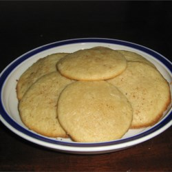 Eggnog Cookies III Recipe - Another round of eggnog for ya? Come on, try these delicious spicy cookies with eggnog, of course.