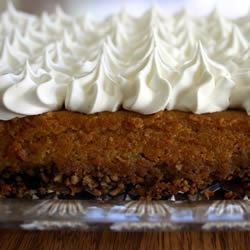 Pumpkin Crunch Cake Recipe - Classic dump cake made with pumpkin - this one is easy and great tasting.