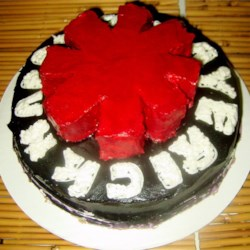 RHCP Birthday cake