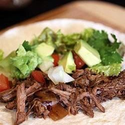 Charley's Slow Cooker Mexican Style Meat Recipe - A hot and spicy chuck roast that can be made into burritos, tacos, or any number of other Mexican-style dishes.