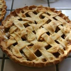 Mom's Apple Pie I Recipe - This aromatic pie 's secret is a bit of whiskey sprinkled onto the filling just before the top crust is slipped on. It mingles marvelously with the sugar, apples and spices as this luscious pie bakes.
