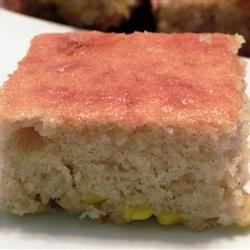 Sweet Mexican Corn Cake Recipe - This Mexican sweet cake made with fresh corn kernels will delight fans of sweet tamales.