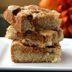 Apple Snack Squares Recipe - This delicious snack cake combines apples, nuts, and butterscotch chips.
