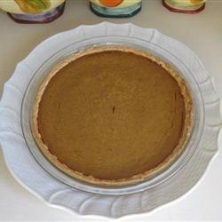 Sara's Pumpkin Pie Recipe - My mom makes THE VERY BEST PUMPKIN PIE. Here is her recipe. Enjoy with sweetened fresh whipped cream.