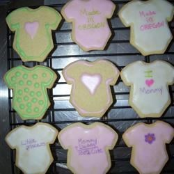 Sugar Cookies VII Recipe - This is my family's recipe for sugar cookies.  I have yet to find one like it.  The dough can be frozen to use later.  I have rolled them out or dropped them.  They are best rolled out.