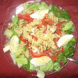 Grilled Chicken and Pasta Salad