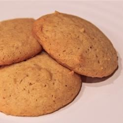 Eggnog Cookies I Recipe - What a delectable treat for Eggnog lovers everywhere! These cookies have a wonderful spicy aroma and are great tasting. The fragrance of nutmeg and cinnamon will infuse your home with holiday spirit as you bake these cookies. They make delicious gifts and are a welcome addition to cookie exchanges.