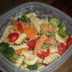 A Twist on Pasta Salad