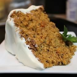 Very Special Tomato Spice Cake Recipe - Tomato sauce is the secret special ingredient in this easy recipe for a spice cake packed with walnuts and raisins.