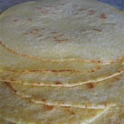 Granny's Corn Flour Tortillas Recipe - Granny made these and every time I make them I think of her. Hope you enjoy them! Serve these with your favorite burrito or fajita recipe!
