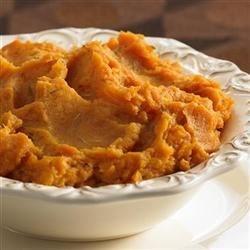 Gourmet Sweet Potato Souffle