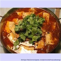 Shui Zhu Dou Fu (Sichuan Boiled Tofu)