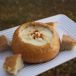 Italian Bread Bowls Recipe - These cute little bread bowls are a great way to serve soup in the wintertime. I usually serve a hearty potato soup when I have the time to bake them. They freeze for up to 1 month, if desired.