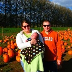 That's me on the right, then my wife Mollie holding our baby boy, Tucker