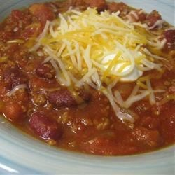 Quick Chili I Recipe - Easy chili with beans can be made as mild or spicy as desired. It's even better the next day.