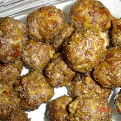 Sweet and Sour Meatballs II Recipe - The hearty taste of seasoned beef and the flavors of sweet and sour distinguish these meatballs. Make this for a special occasion as an appetizer or for every-day dinner.
